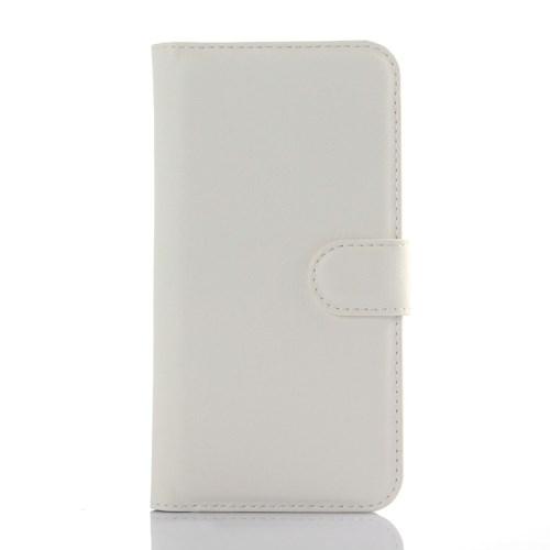 Plånboksfodral till ZTE Blade S6 - Vit