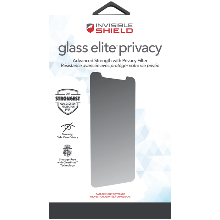 INVISIBLESHIELD GLASS ELITE Privacy skärmskydd iPhone 11 Pro Max