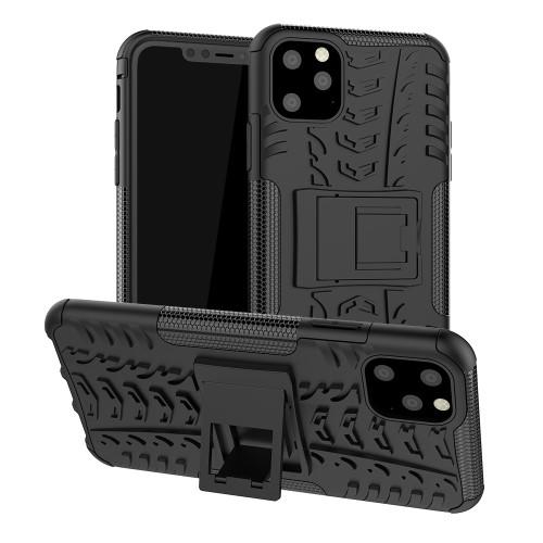 Tyre Kick-Stand Mobilskal till iPhone 11 Pro - Svart
