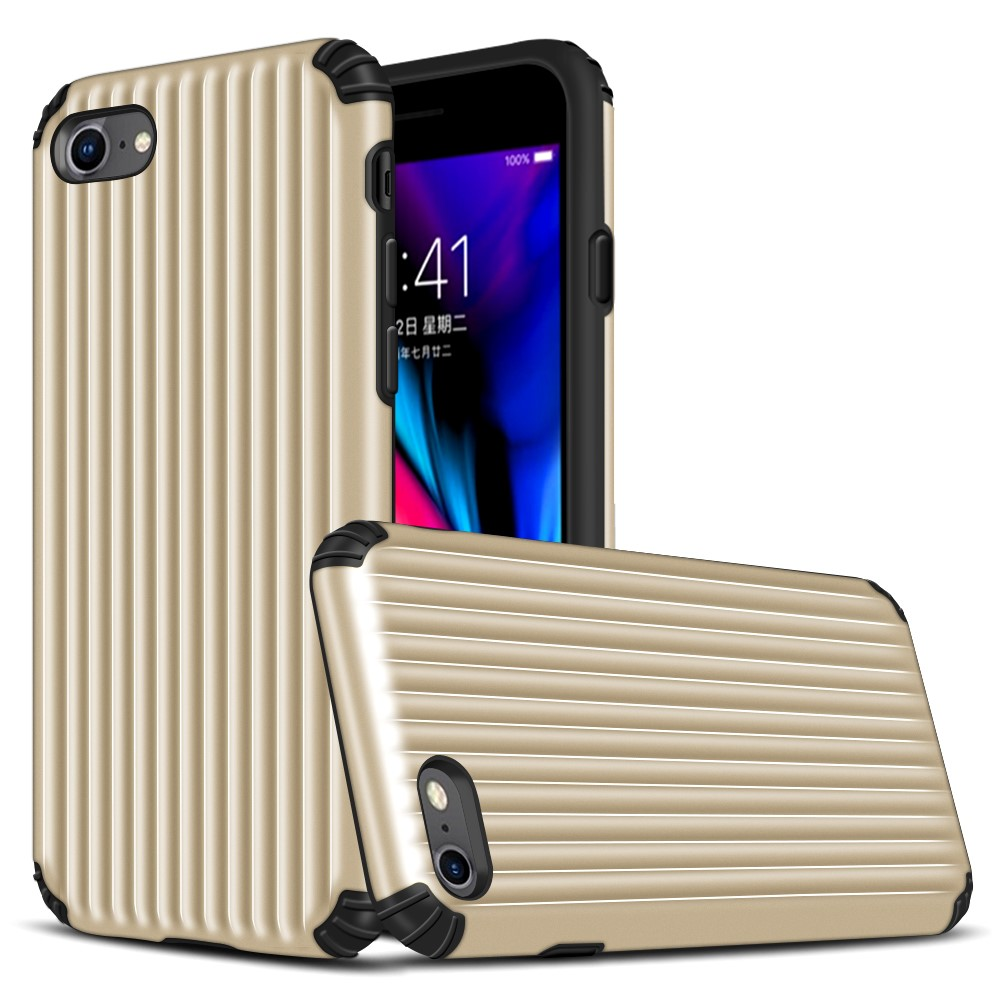 Hybrid Armor Skal till Apple iPhone 6/7/8/SE 2020 - Guld