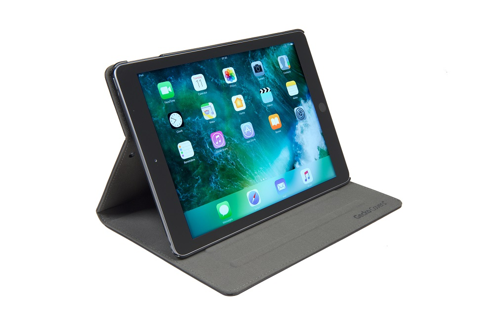 "Gecko Easy-Click Cover till Apple iPad 9.7"" - Svart"