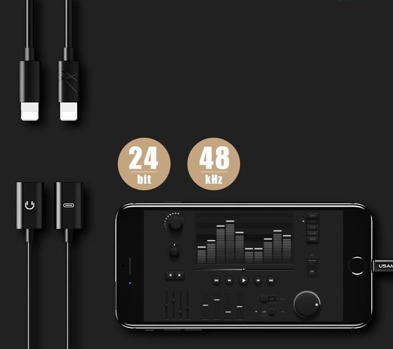 Hörlurar och ladda samtidigt iphone 7
