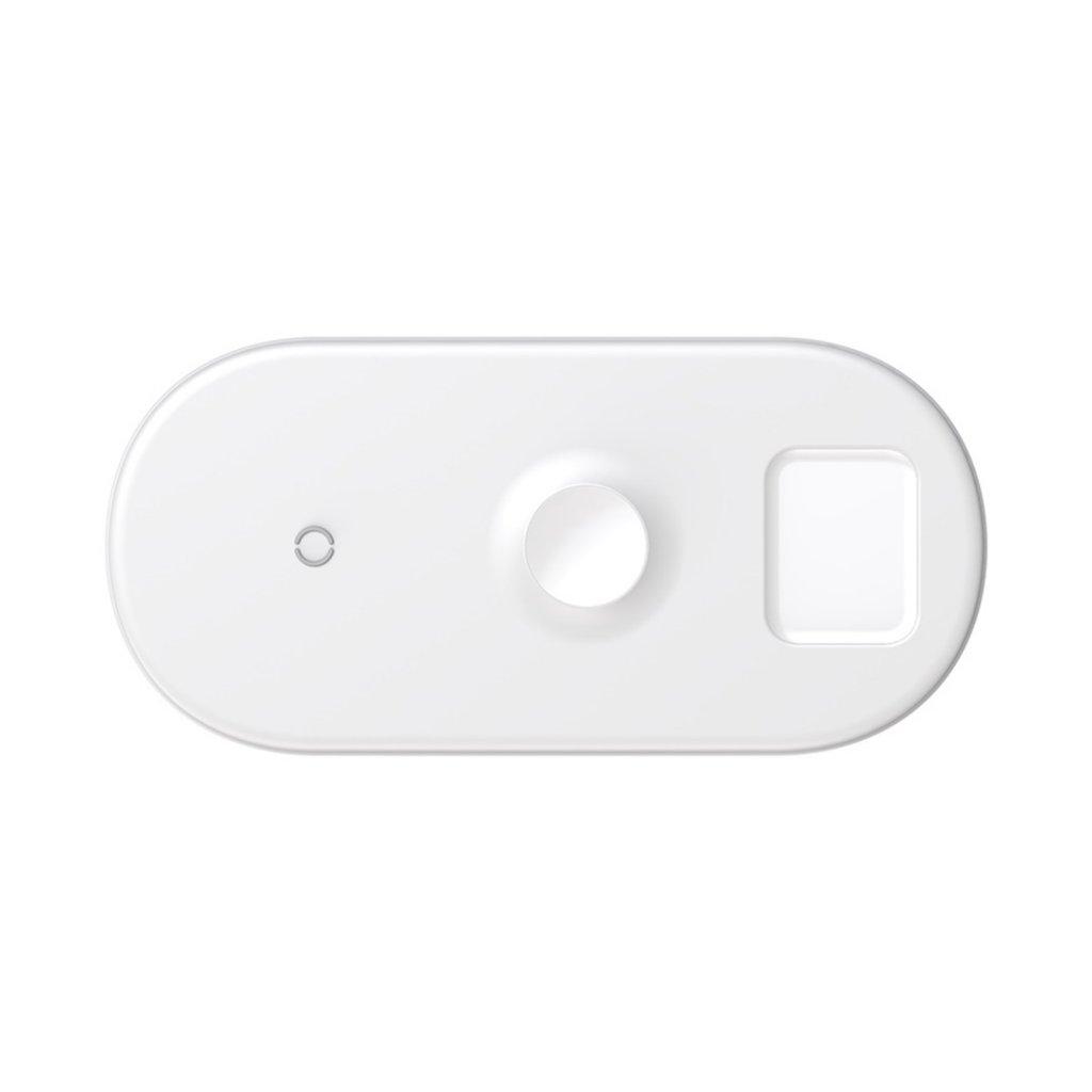 Baseus Smart 3 i 1 Trådlös Laddare för Apple Watch, telefon