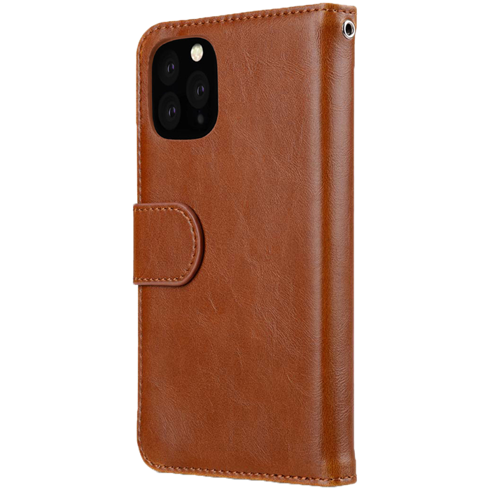 Melkco Walletcase iPhone 11 Pro - Brun