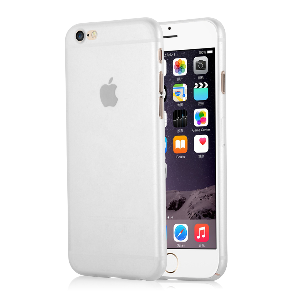 CoveredGear Zero skal till iPhone 6/6S - Vit
