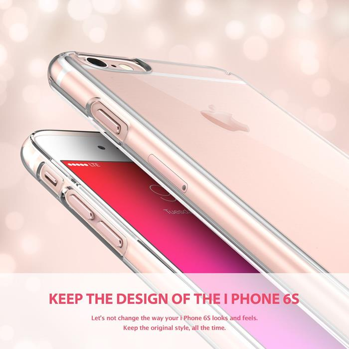 Ringke Slim Dual Coated Skal till Apple iPhone 6 / 6S - Rose Gold