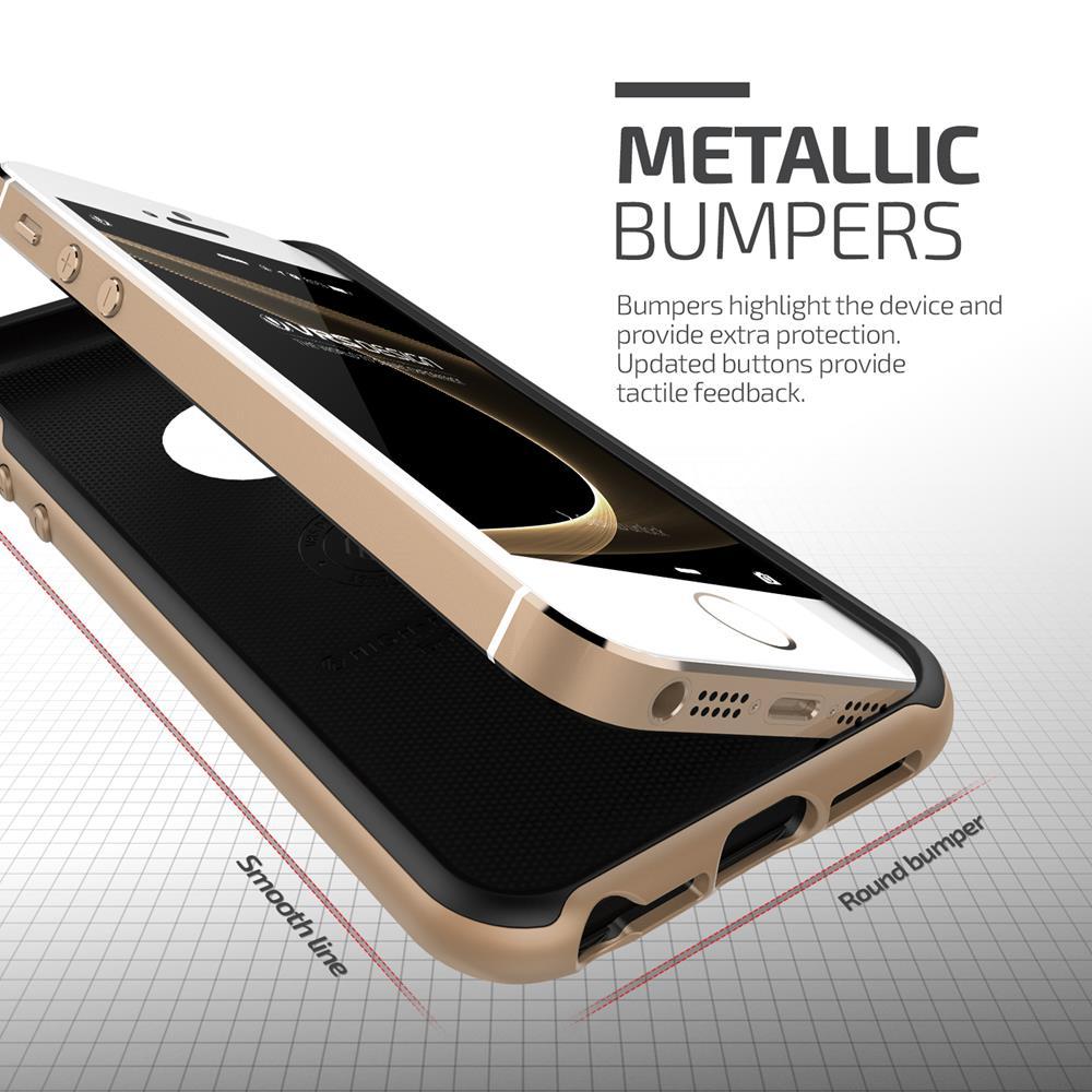 Verus High Pro Shield Skal till Apple iPhone 5 5S SE - Gold ... ead6b203e88e8