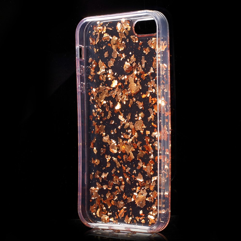 Shiny Sequins MobilSkal iPhone 5 5S SE - Roséguld - TheMobileStore 8cb7802196a9f