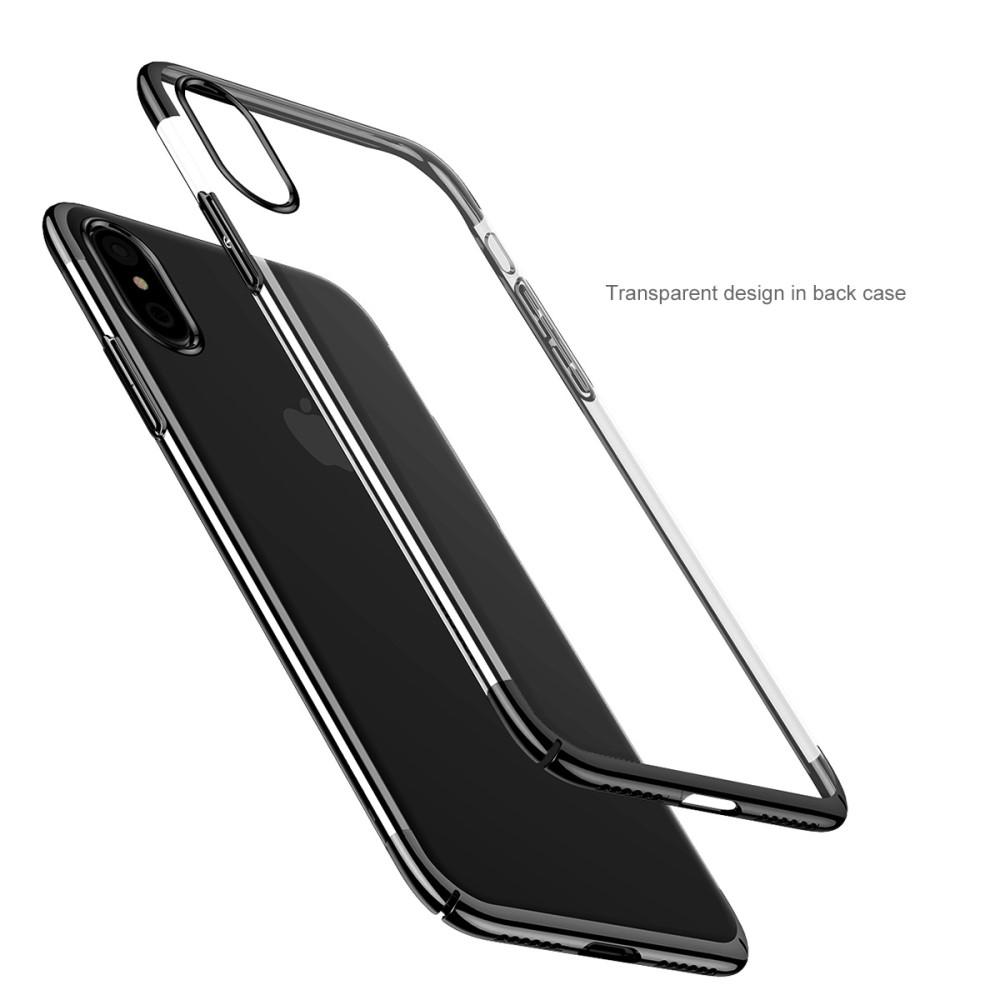 Baseus Glitter Mobilskal till Apple iPhone XS   X - Svart ... cd28bb305e1d8