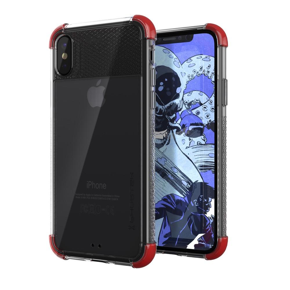 Ghostek Covert 2 Skal till Apple iPhone XS / X - Röd