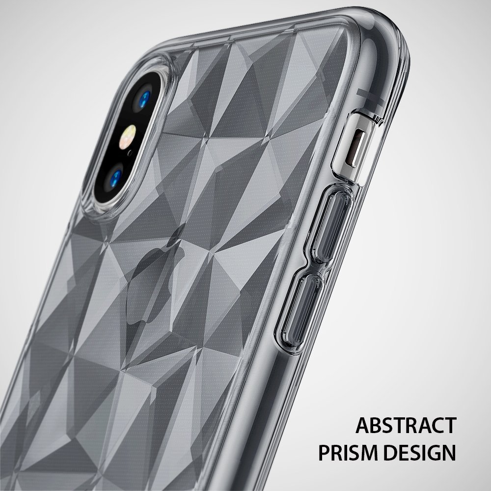 Ringke Air Prism Skal till Apple iPhone XS / X - Grå
