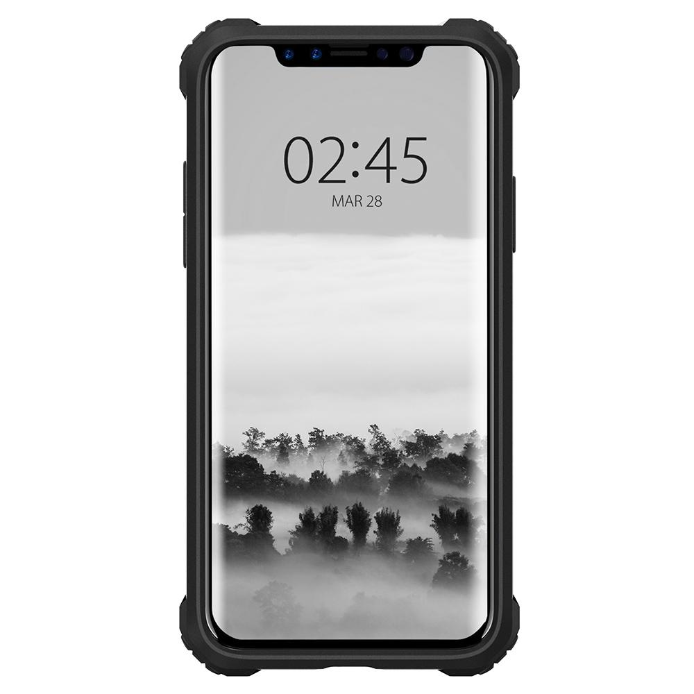 SPIGEN Rugged Armor Extra Skal till Apple iPhone XS / X - Svart