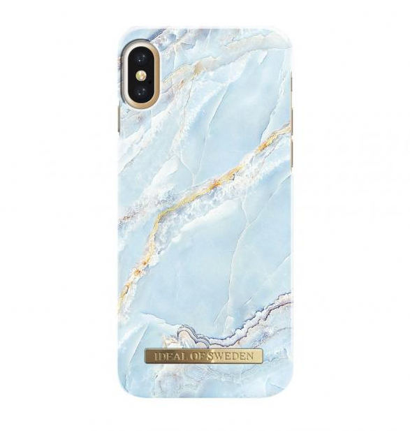iDeal Fashion Case iPhone XS / X - Island Paradise Marble