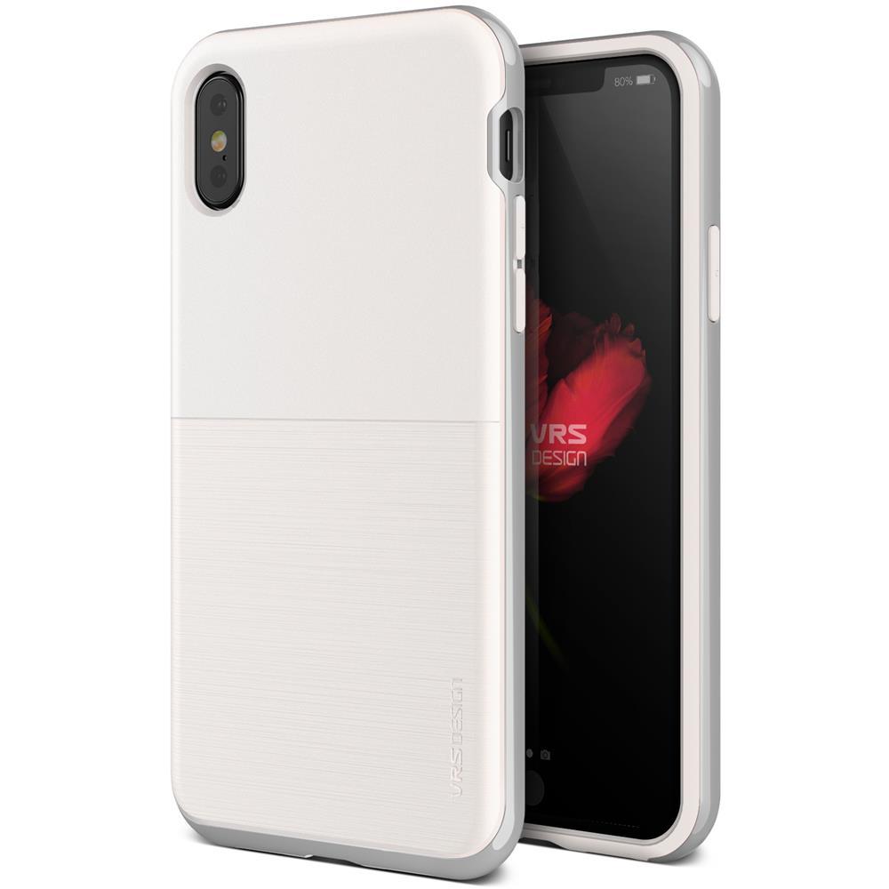 verus high pro shield skal till apple iphone x vit silver rh themobilestore  se adda145baa3bc