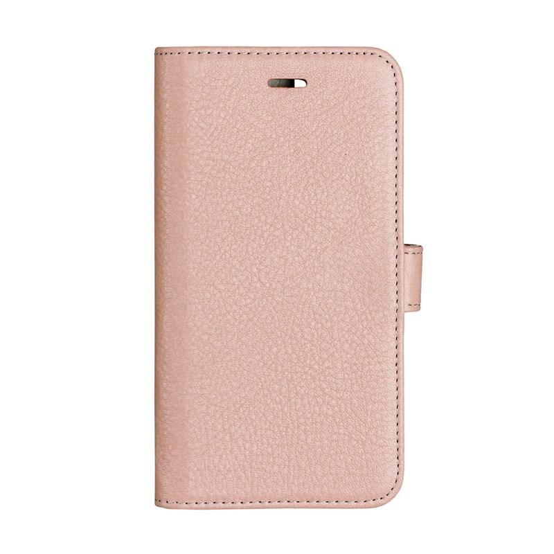 Onsala Collection äkta läder Plånboksfodral iPhone XS / X - Rose
