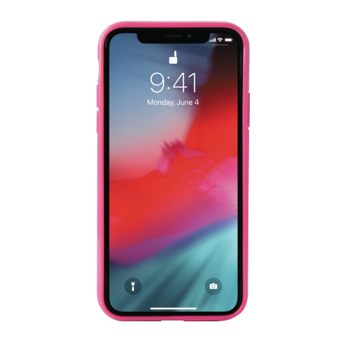 Puro Anti Shock Leopard Cover till iPhone XR - Rosa