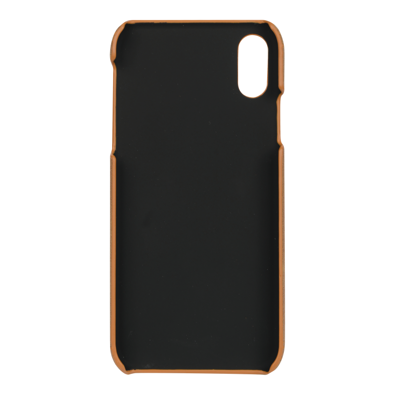 Essentials PU Triple Card Cover till iPhone XR - Ljusbrun