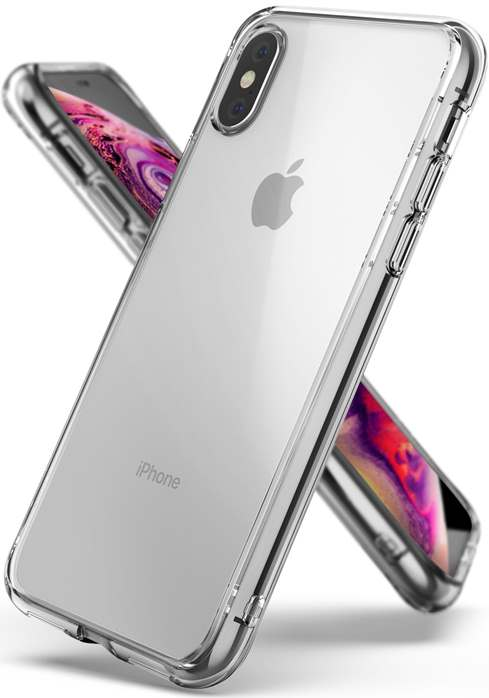 Ringke Fusion Shock Absorption Skal till iPhone XS/X - Clear