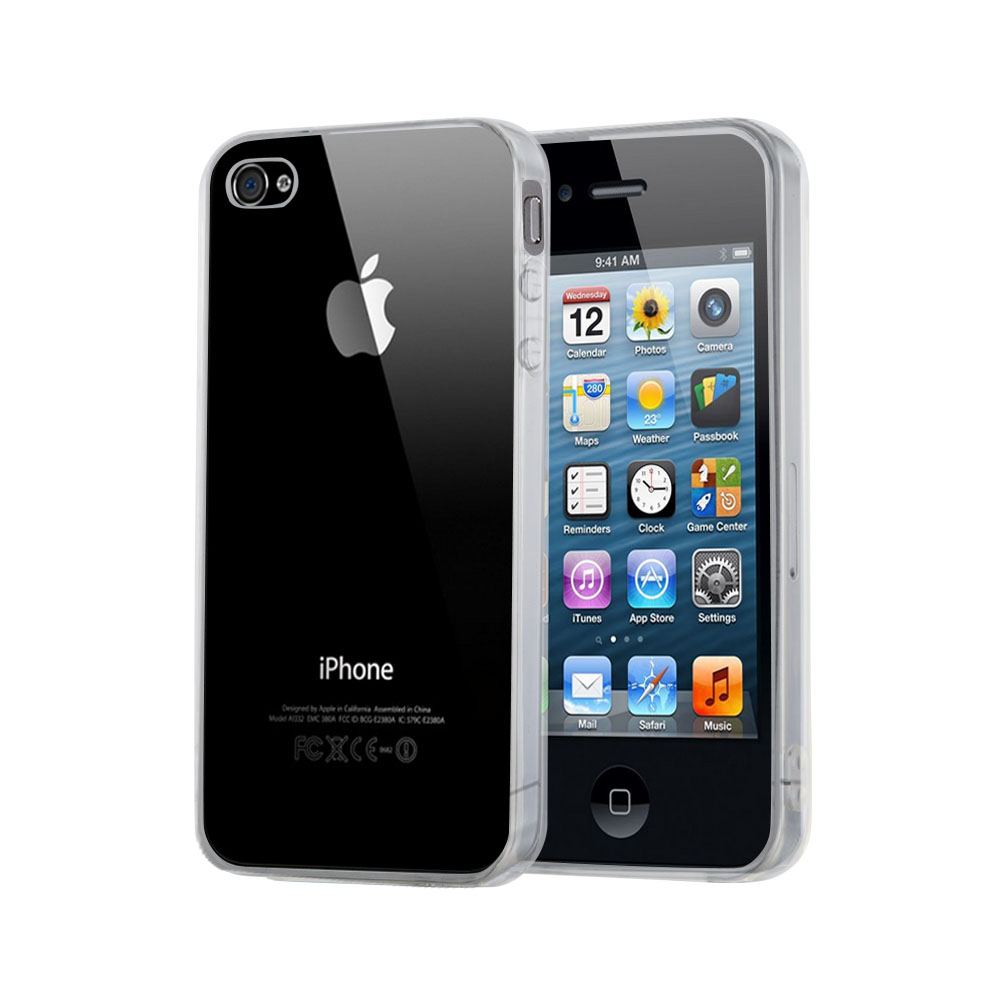 CoveredGear Invisible skal till iPhone 4/4S - Transparent
