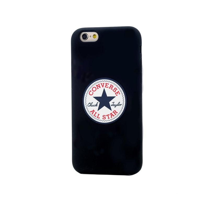 Converse Skal Silikon iPhone 6(S) Plus - Svart - TheMobileStore 4cdac91ef7191