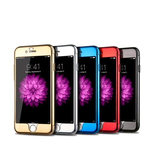 JOYROOM Beetles Series + Tempered Glass Skal till iPhone 6   6S - Gold 1db23d8c2a87d