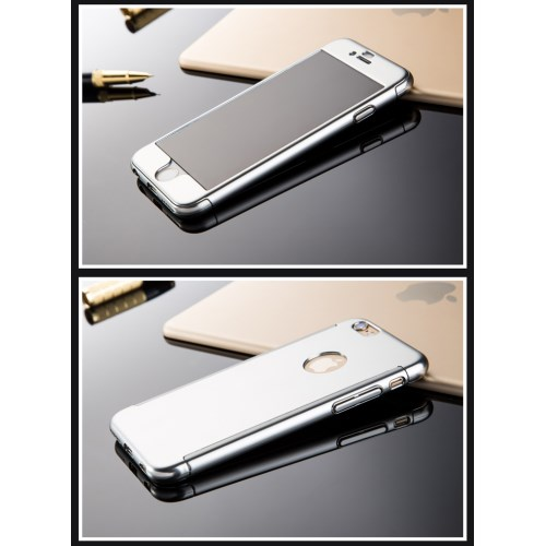 JOYROOM Beetles Series + Tempered Glass Skal till iPhone 6   6S - Silver 7dc7a66aa3133
