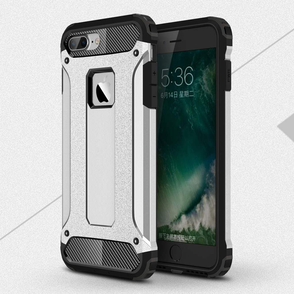 Hybrid Armor Mobilskal till Apple iPhone 7 Plus - Silver