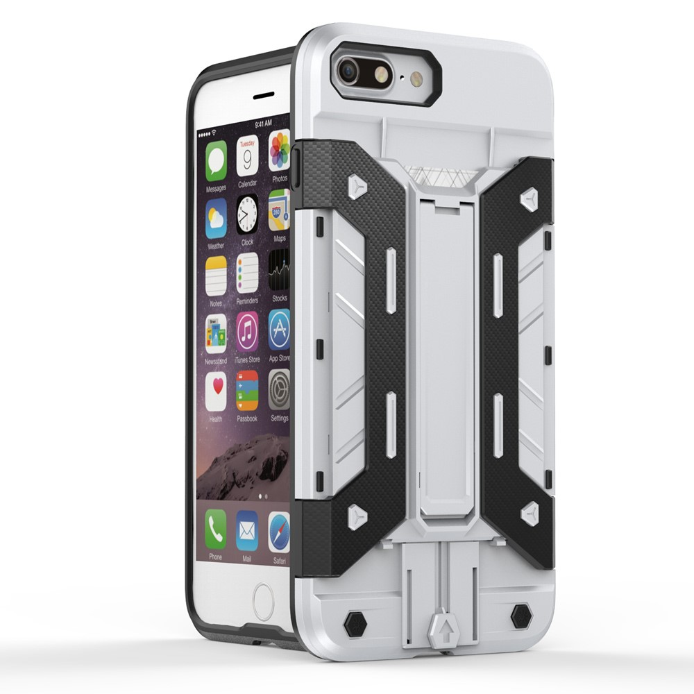 Rugged Armour Mobilskal till iPhone 7 Plus - Silver