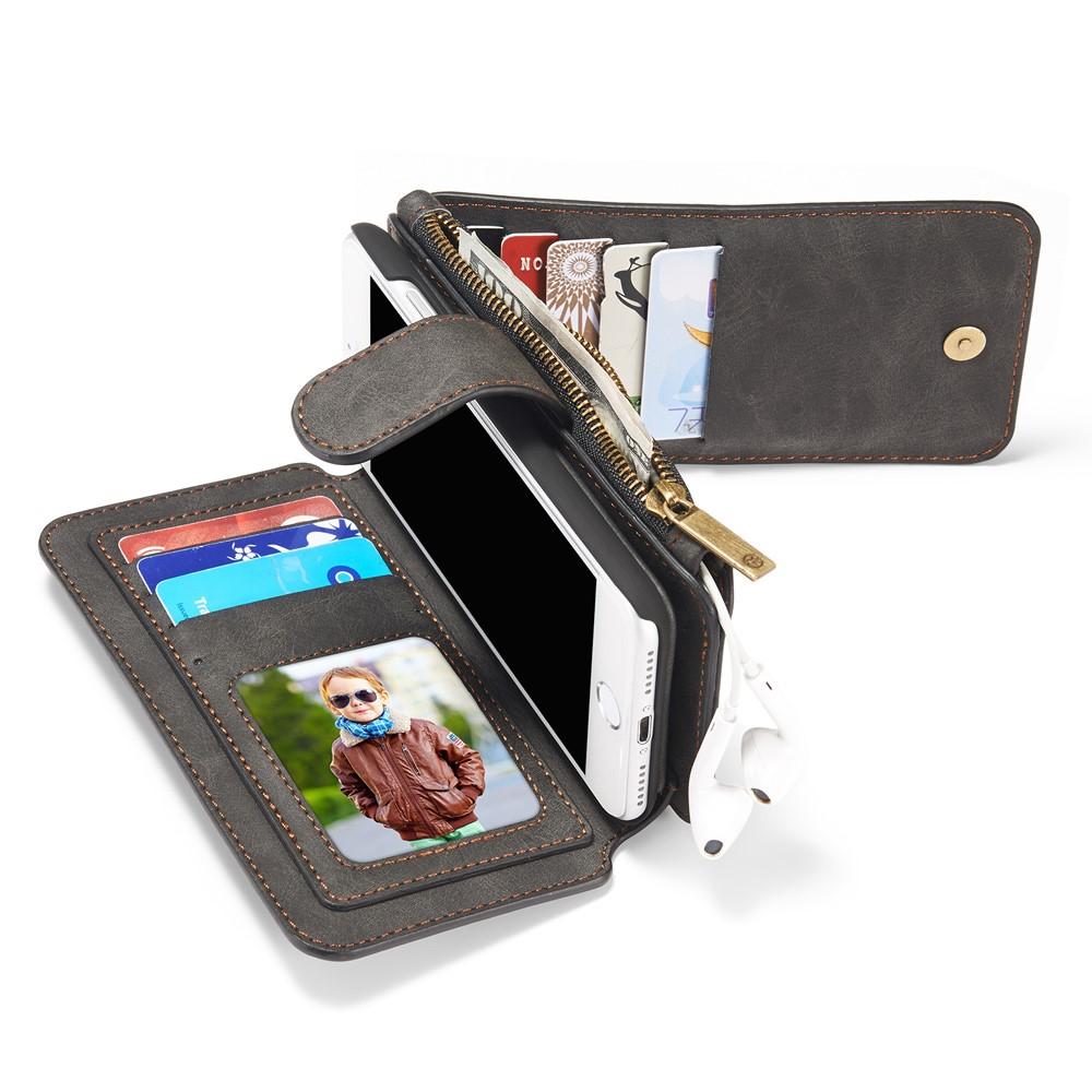 Caseme Detachable Plånboksfodral iPhone 8 7 - Svart - TheMobileStore e25fe726d1be5