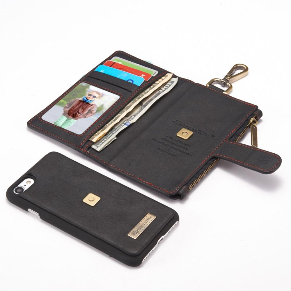 Caseme Plånboksfodral iPhone 8 7 - Svart - TheMobileStore 7c5f949eeada1