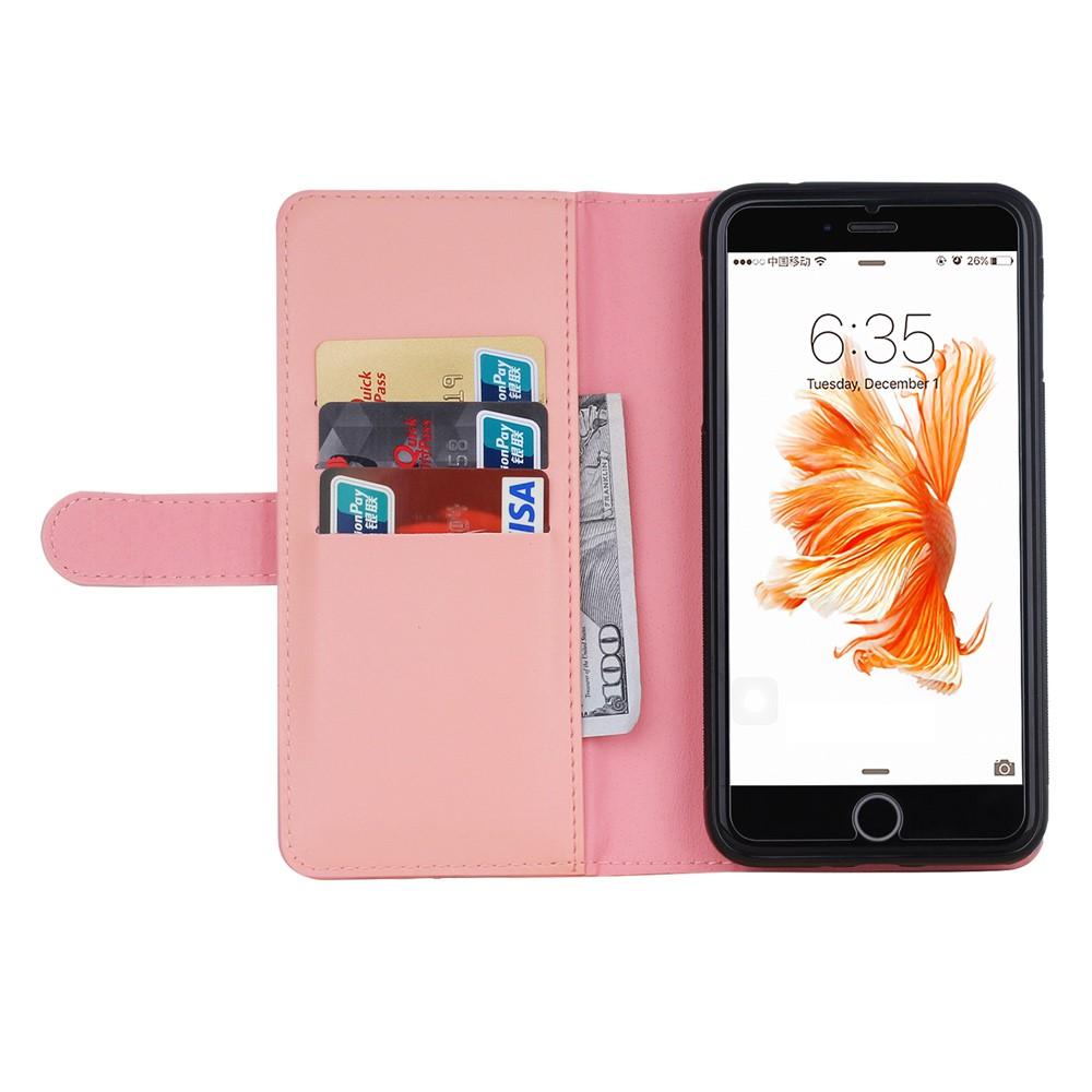 Magnetic Plånboksfodral till iPhone 8 7 - Rosa - TheMobileStore 1d9f04d3072bf