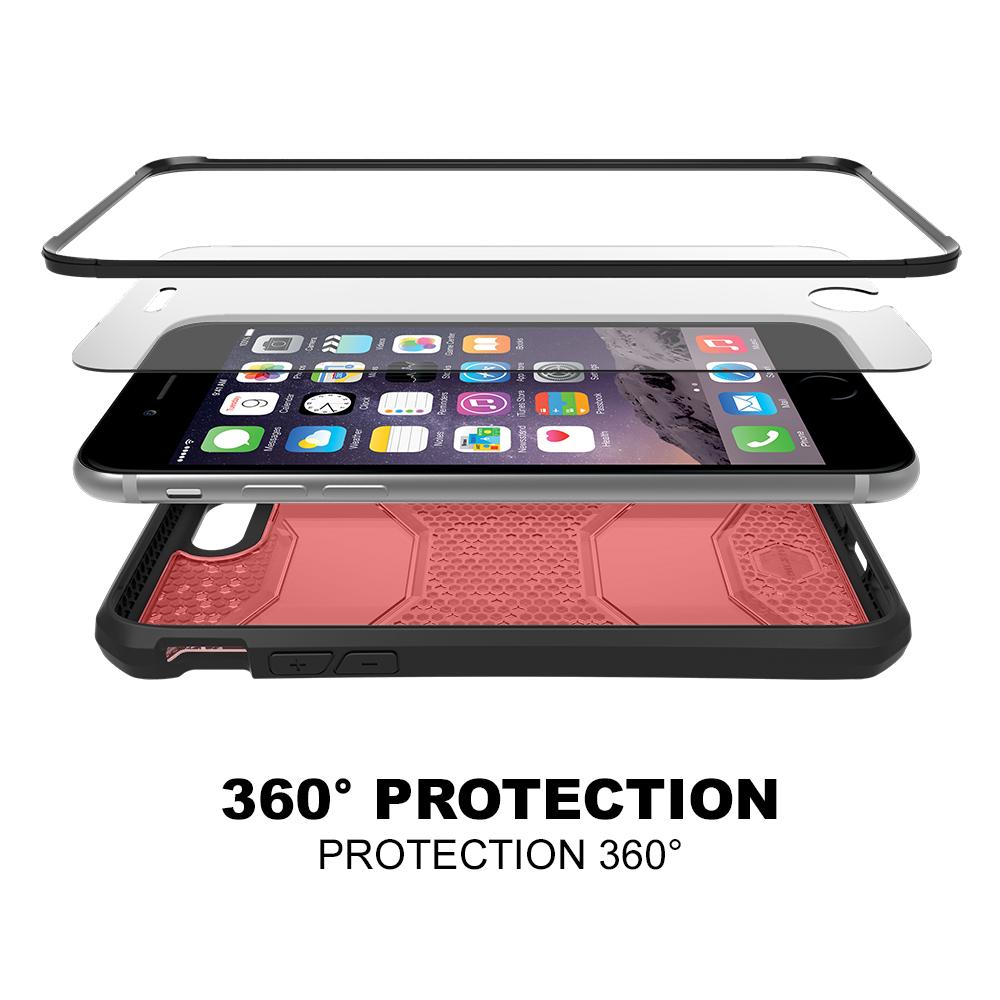 Itskins Revolution Skal till iPhone 8 7 (R ouml d) + Tempered Glass 60f707ab5c188