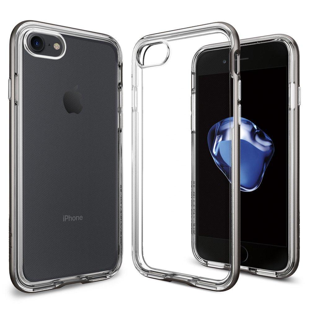 SPIGEN Neo Hybrid Crystal Skal till iPhone 7 Plus - Gunmetal