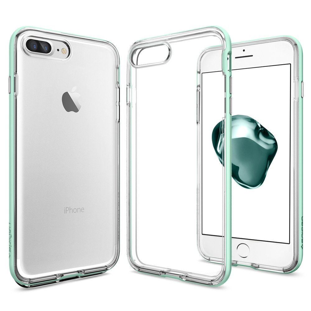 SPIGEN Neo Hybrid Crystal Skal till iPhone 7 Plus - Mint