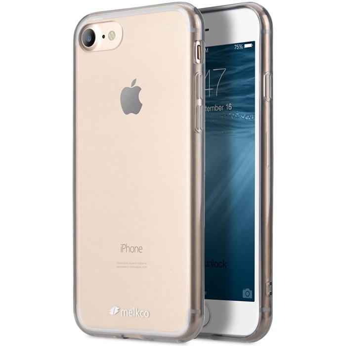 Melkco Polyultima Skal till iPhone 8 7 - Transparent Svart ... 2973b4d6d8d46