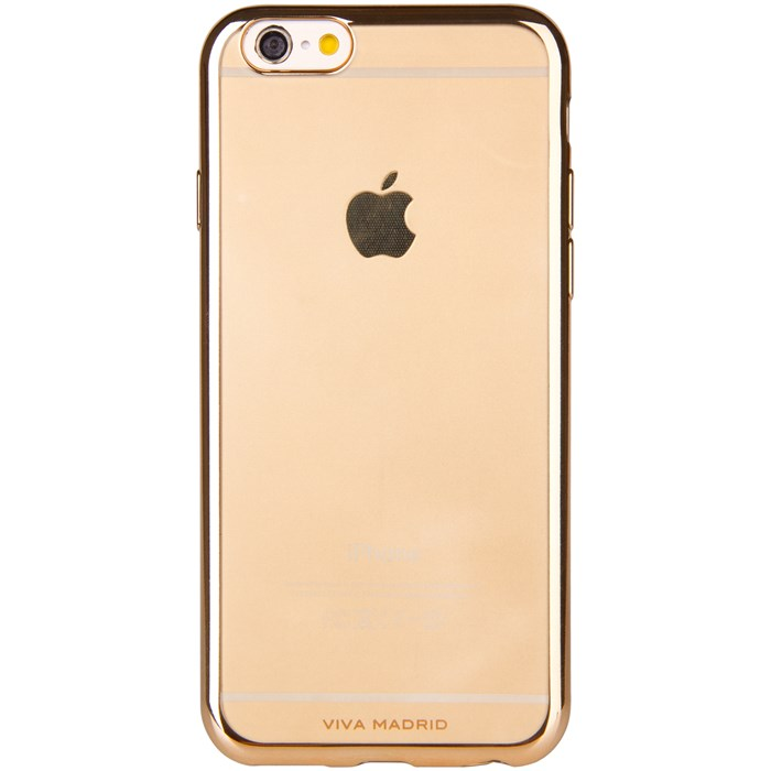 Viva Madrid Metalico Flex Mobilskal till iPhone 8/7 - Champagne Gold
