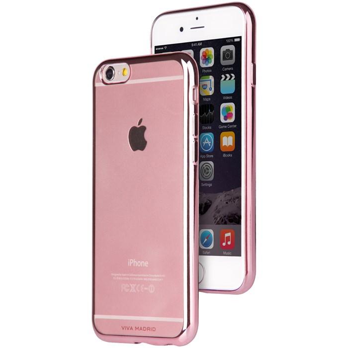 Viva Madrid Metalico Flex Mobilskal till iPhone 7/8/SE 2020 - Blossoming Pink