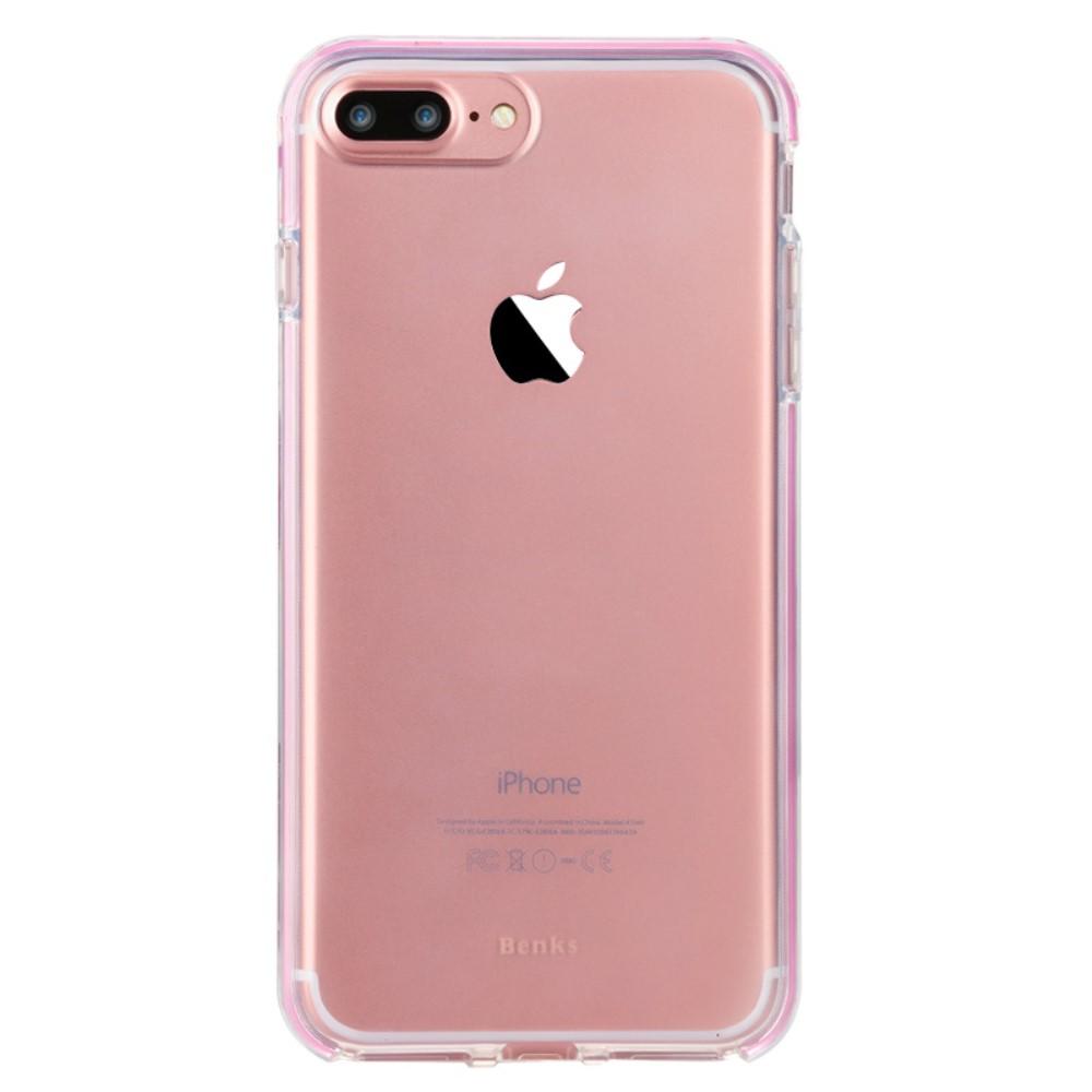 Benks Flash Case till iPhone 7 Plus - Rosa Transparent - TheMobileStore 49c4a5f1f939a