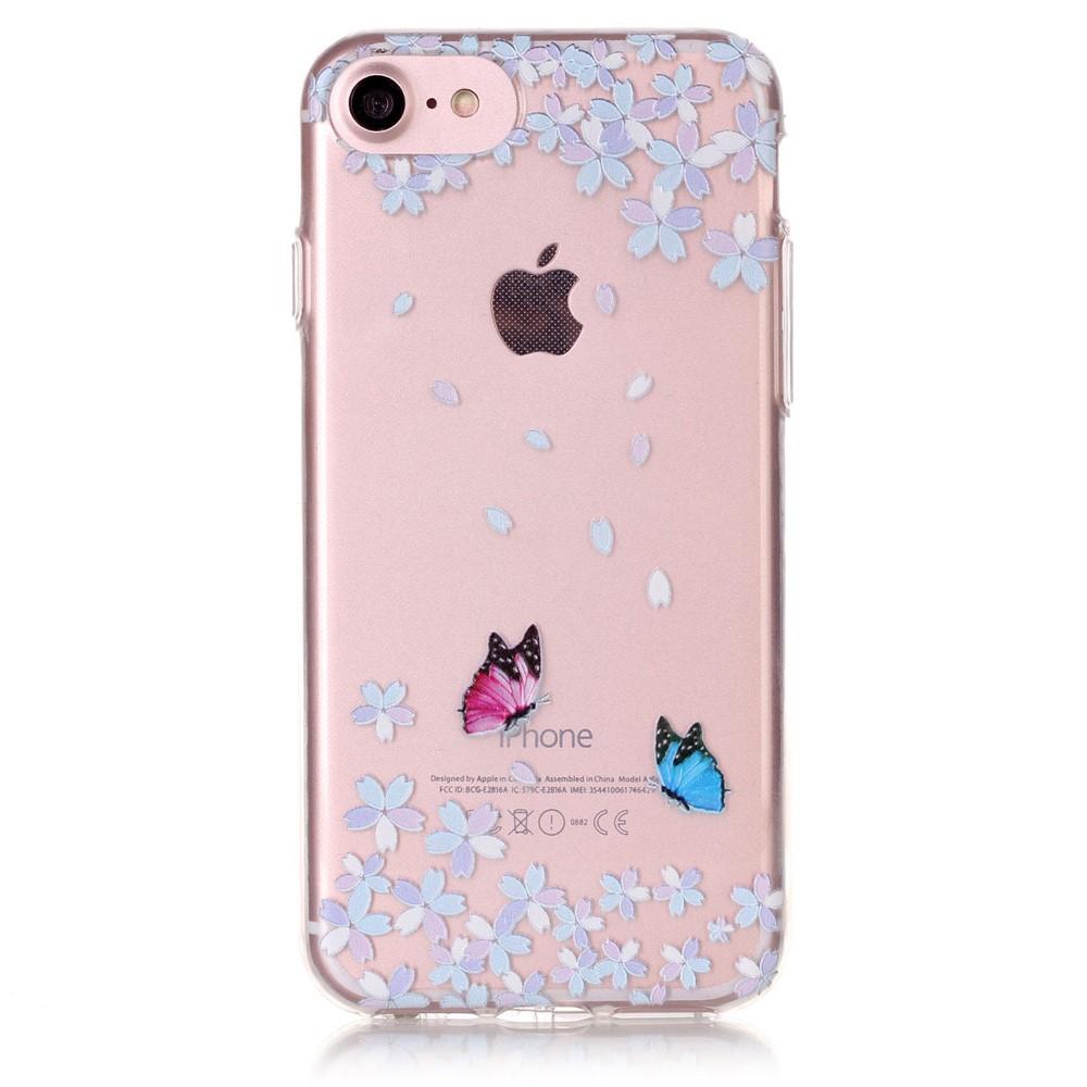 Mobilskal | iPhone 7/8/se | Flexiskal | Pair Of Butterflies