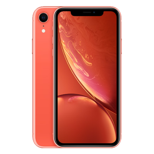 Begagnad iPhone XR 64GB Coral - Ny skick (A)