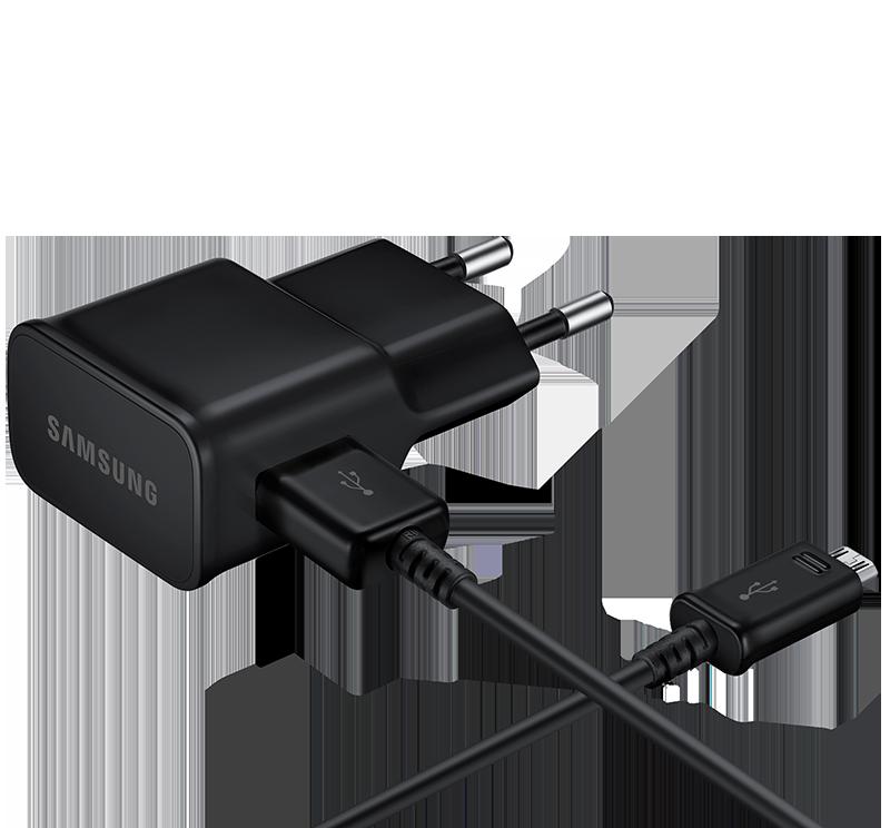 Kompakt Samsung Galaxy S2 Dockningsstation för USB och VägguttagAC Laddare (Svart)