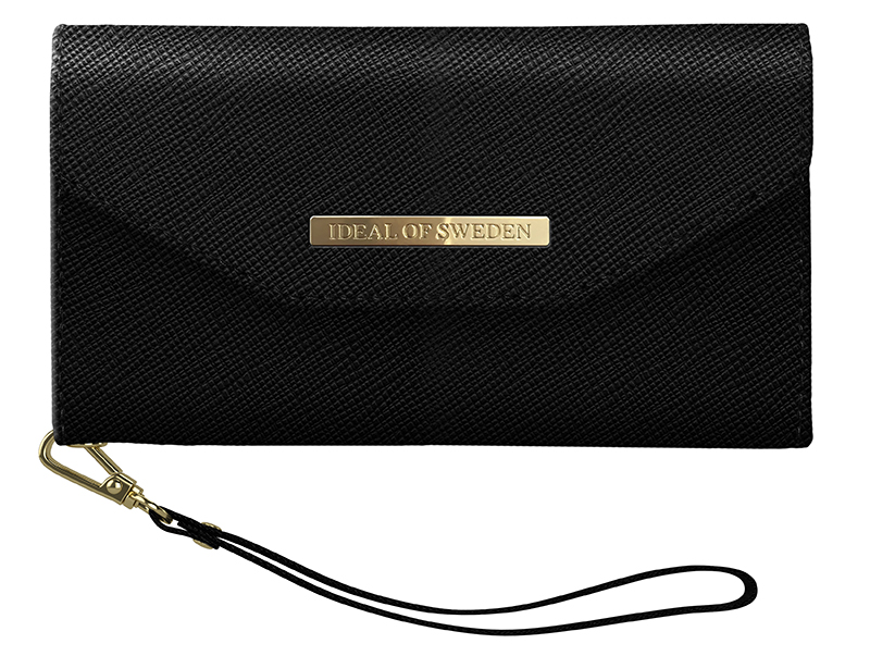 iDeal of Sweden Mayfair Clutch iPhone XR Black