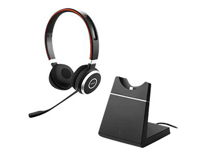 Jabra Evolve 65 Ms Stereo Incl Chargingstand, Link 370