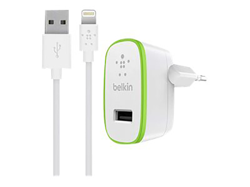 Belkin Wall Charger Lightning 2.4 Amp