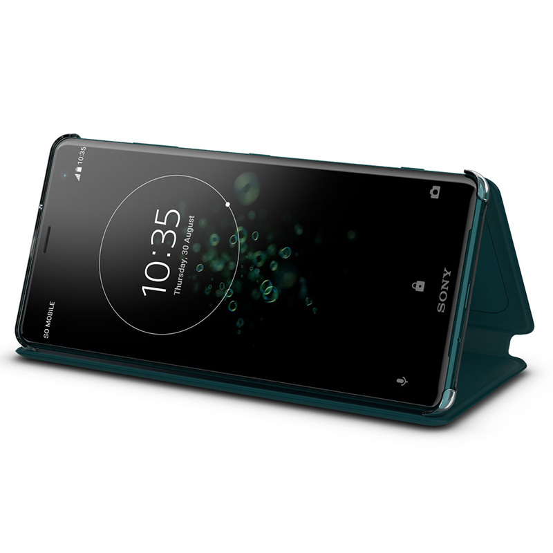 SONY STYLE COVER STAND XPERIA XZ3 GREEN