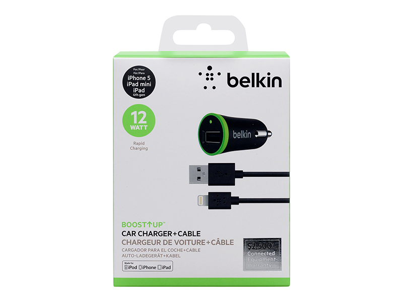 Belkin Car Charge Lightning 2.4Amp