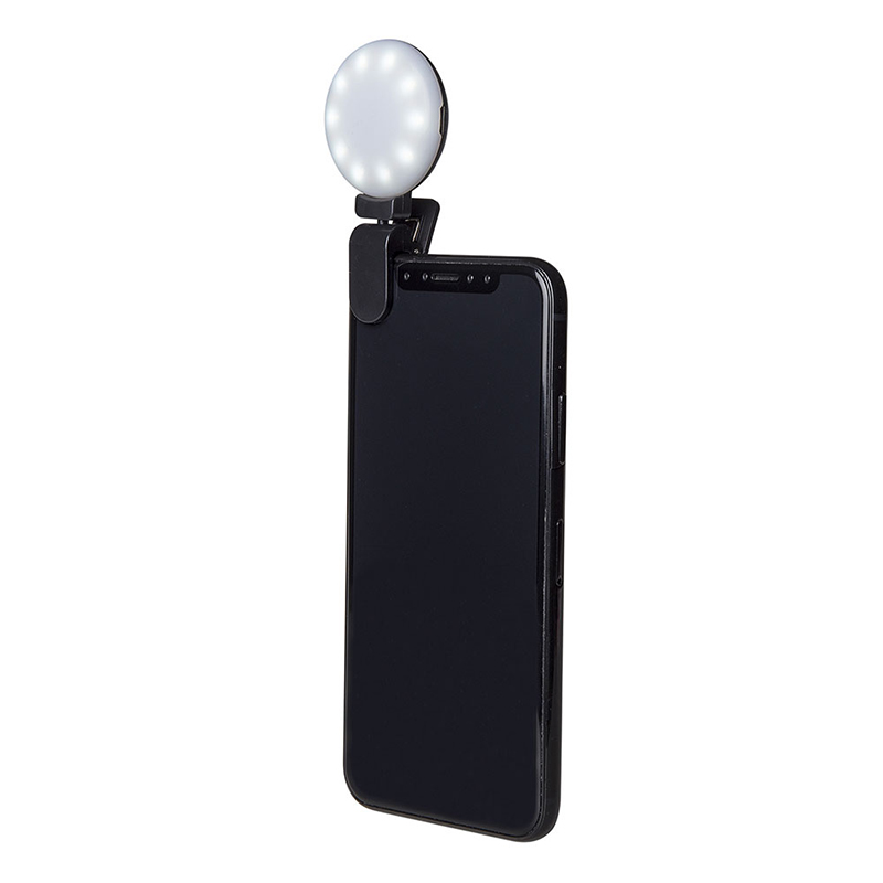 Celly Selfie 3-Tone Flashlight Black