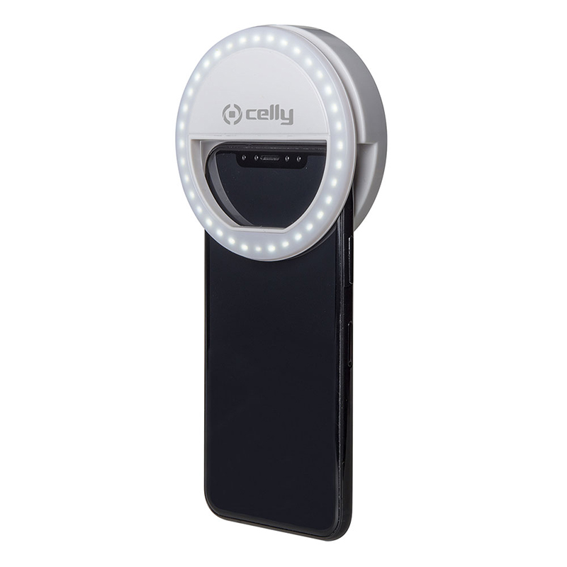 CELLY SELFIE FLASH LIGHT PRO WHITE
