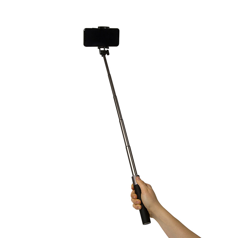 CELLY SELFIE STICK W/ BT KEY BLACK