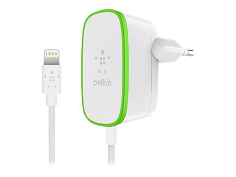 Belkin Home Charger Wired Lightning Cable 12W Wht